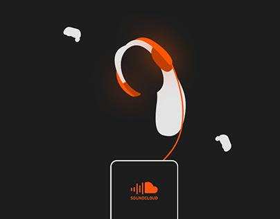 SOUNDCLOUD UI redesign