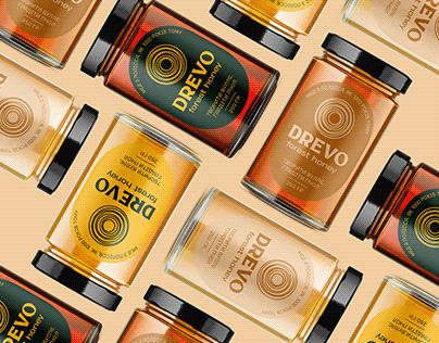DREVO — forest honey