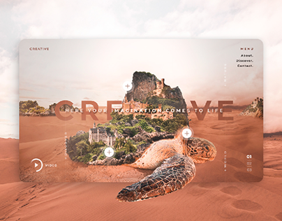 Here Your Imagination Comes to Life - UI/UX Vol. 01