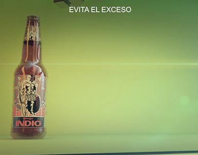 Cerveza Indio C4D