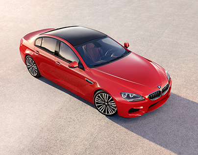 BMW Gran coupé - CGI - 3D render