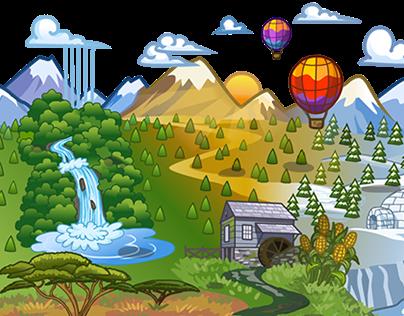 Vector Map/Background Art