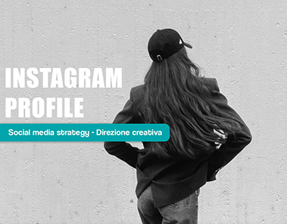Instagram profile - Restyling