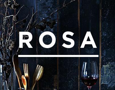Rosa Restaurant Website