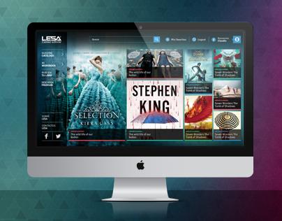 Bookstore - website