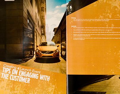 Volvo S60 Launch brochure