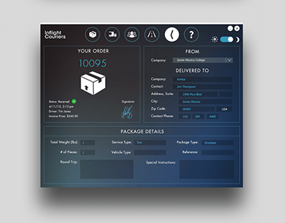 Digital Waybill Quick Entry, Web Server, & Order Panel