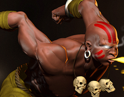 Dhalsim Fan Art