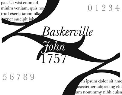 John Baskerville 1757