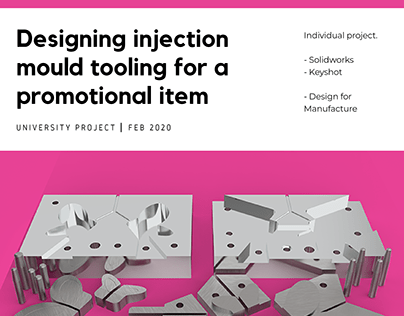 Designing injection mould tooling