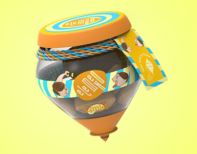 eLeMeNO - Candy Packaging
