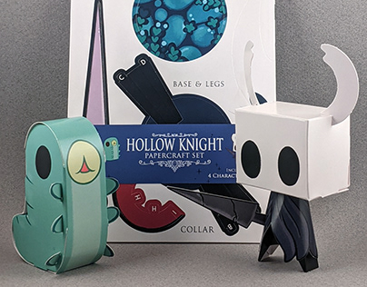 Hollow Knight papertoys