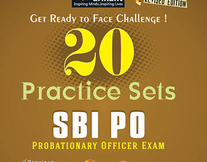 SBI PO Examination 20 Practice Sets at Bookstores
