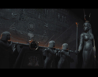 Gods of Egpyt Title Sequence