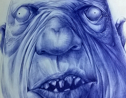 Ball Pen on Paper