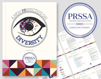 PRSSA Logo & Print Design