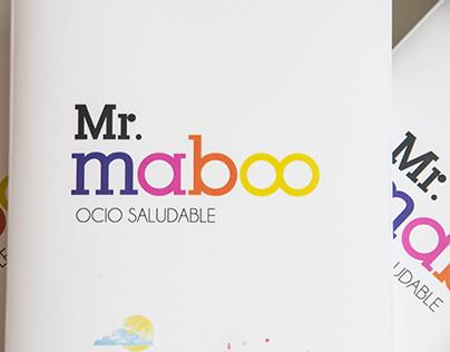 Mr. maboo - naming, identity, brand, brochures.