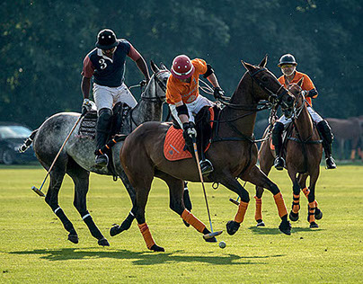 Maybach Polo-Team in Chantilly 2014