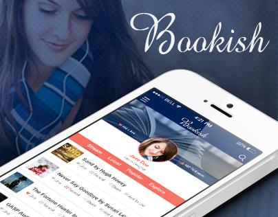 Bookish AudioBook Player App  UI/UX Design