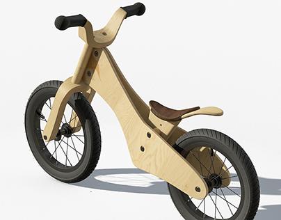 3D bike by AGOULZI Mohamed