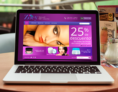 Zoey - Web Template