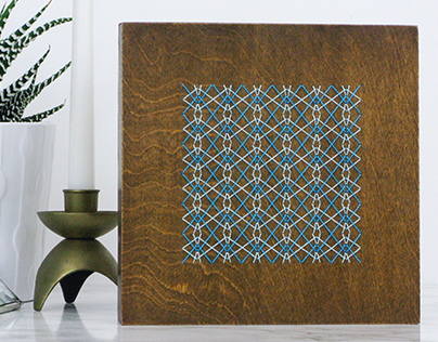 Wood Embroidery : A Pattern