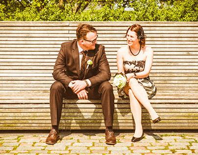 moderne Hochzeitsfotos in Bremerhaven