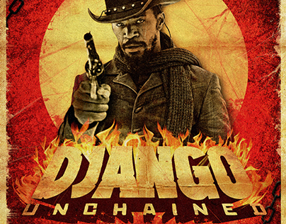 Django Unchained - Fan art poster