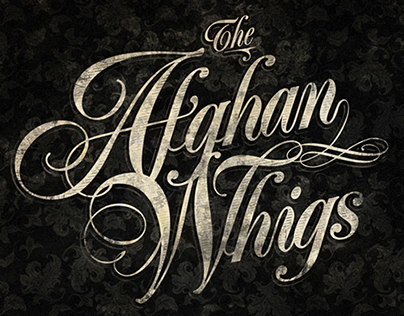 The Afghan Whigs - Fan art poster 2012