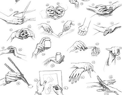 50 hands & 50 feet