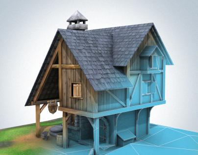 Medieval Buildings: Blacksmith Forge