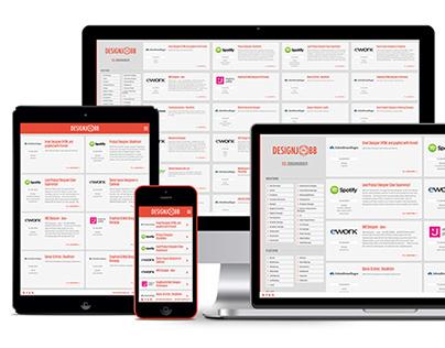 Designjobb.nu Website (2014)