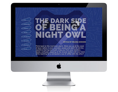 The Dark Side of Being a Night Owl