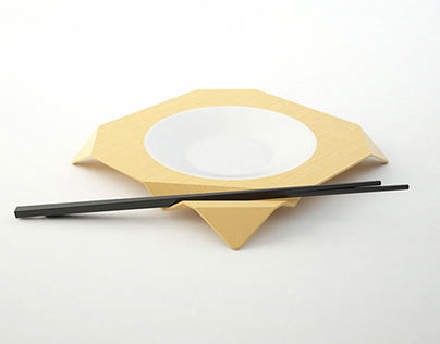 +FOLD Origami Plate