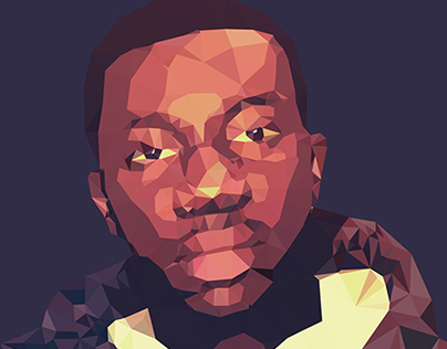 Low - Poly Self Portrait