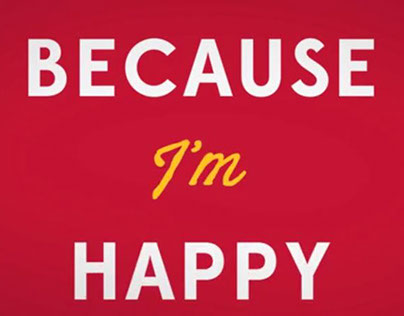 Kinetic Typography - Happy - Pharrell Williams