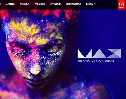 MAX 2014 web site