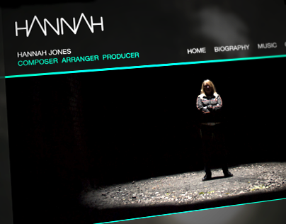 Hannah Jones Music Website