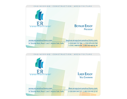ER Constructions Cards