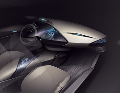 Automotive Design Rendering