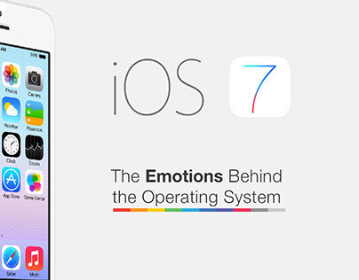 iOS7 The Emotions Behind the Operating System