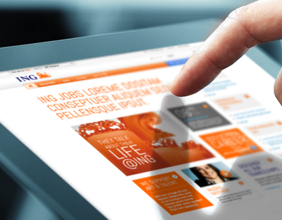 ING Jobs website