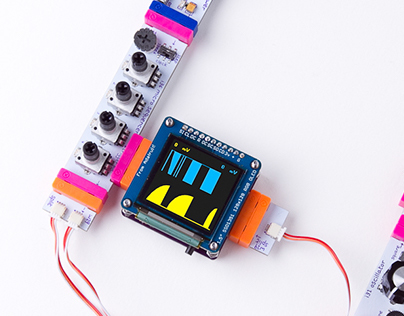 LittleBits OLED graphic visualizer