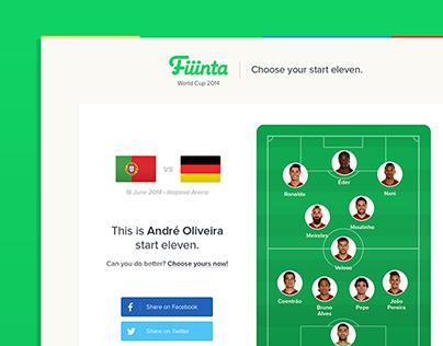 Fiiinta for World Cup 2014