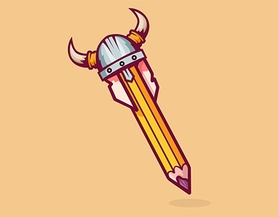 Viking Pencil (Maybe New Logo)