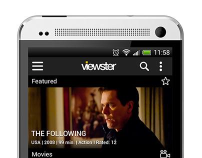 Mobile app for a free video on demand platform