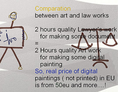 ARTIST/LAWYER COMPARATION PRICE