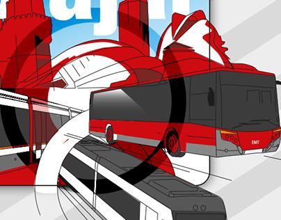 Valencia Transport advertising campaign