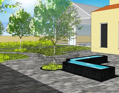 Landscape Concept - Pvt. Villa