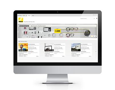 Nikon Partnerweb Redesign